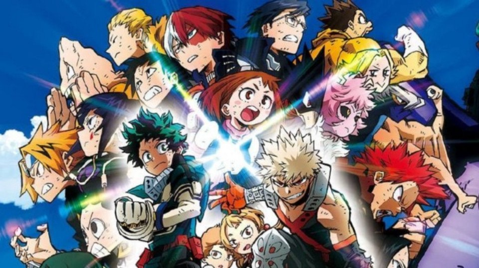 Full Cinema My Hero Academia Heroes Rising 2019 Movie Anime Dreamworks Hedsetbutut